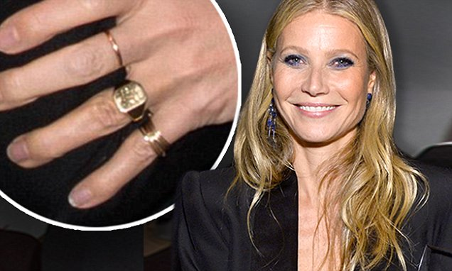 Gwyneth Paltrow Spotted Wearing Gold Ring At Gala Daily