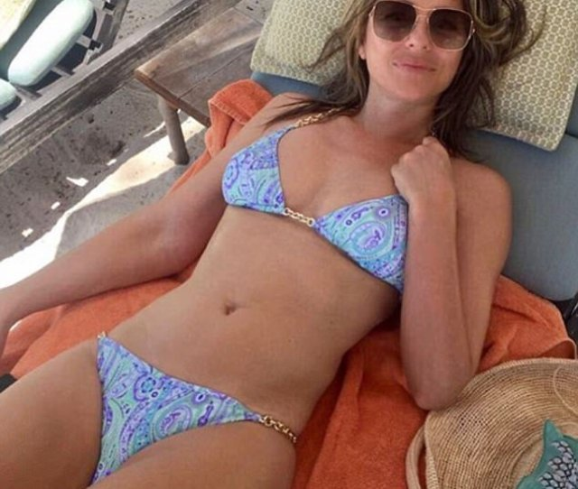 Stunning She Is The Owner Of An Eponymous Swimwear Line And Elizabeth Hurley