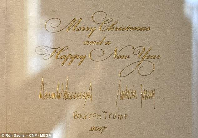 Trump Christmas Card Doesnt Say Happy Holidays Daily