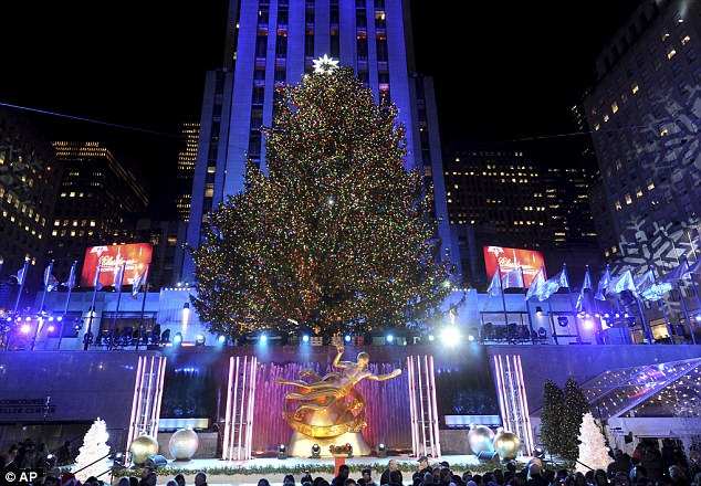Rockefeller Tree Lighting 2017