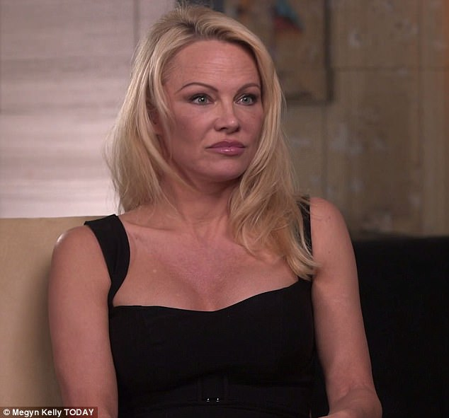 Pamela Anderson said it was 'common knowledge' Harvey Weinstein posed a threat to women during an interview on Thursday