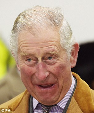Prince Charles, who has just turned 69, was beaming with pleasure after the news of Prince Harry's engagement to actress Meghan Markle