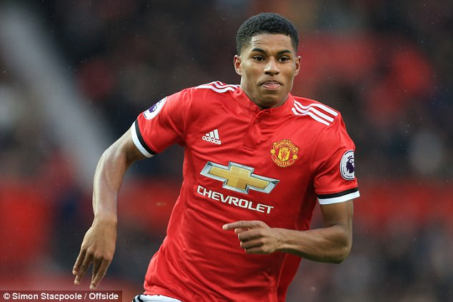 Marcus Rashford likewise has made a name for himself across Europe with Manchester United