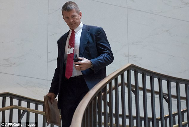The White House is said to be considering a proposal developed by a private contracting firm to build a global spy network that would operate separately from U.S. intelligence agencies put together by Erik Prince of Blackwater fame