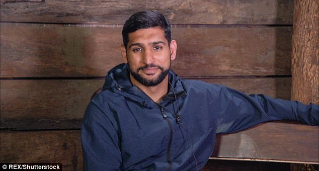 Awkward: Amir was seen telling the camera that he thinks Iain has a lot of'problems' in reference to his lack of star-winning in the trials he has taken part in