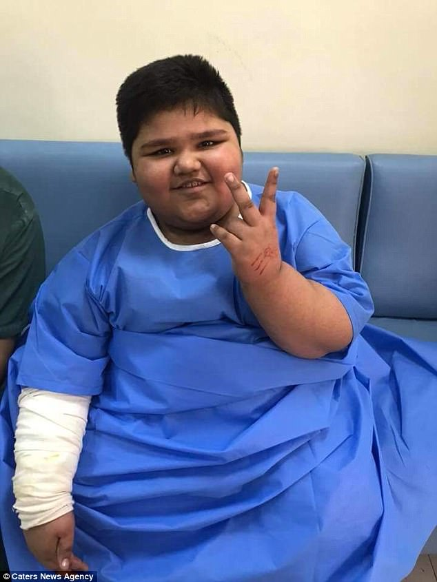His parents therefore only had to pay  hospital charges and for Muhammad's medicines