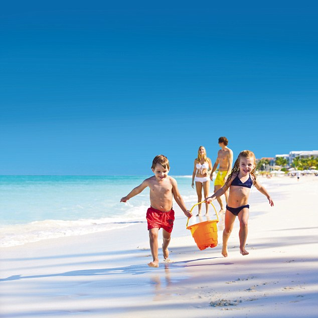 Make sure you're equipped with all the lotions and potions necessary to protect the whole family from the Caribbean's strong rays.