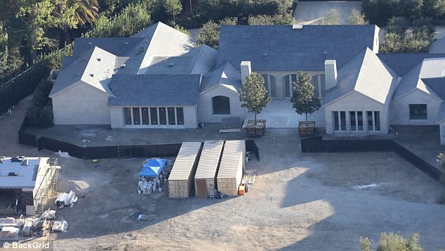 Home sweet home:Kim and Kanye had big plans for their Hidden Hills home