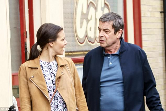 Relatives: Prior to her show exit last year, viewers saw Carla reacquainted with her father Johnny Connor and her step-brother Aidan, played by Shayne Ward, and step-sister Kate (Faye Brookes)