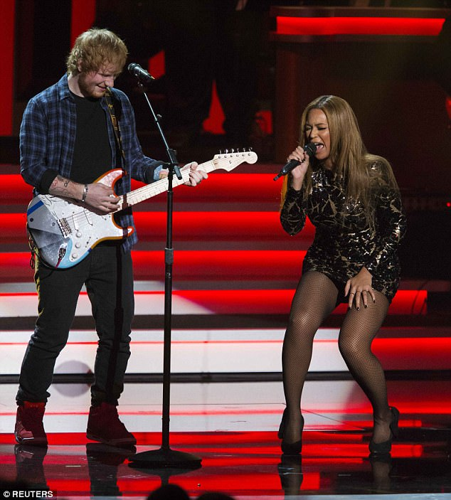 Big names: He's worked with some of the biggest names in the industry, including Eminem, The Weeknd and One Direction (here performing with Beyonce)