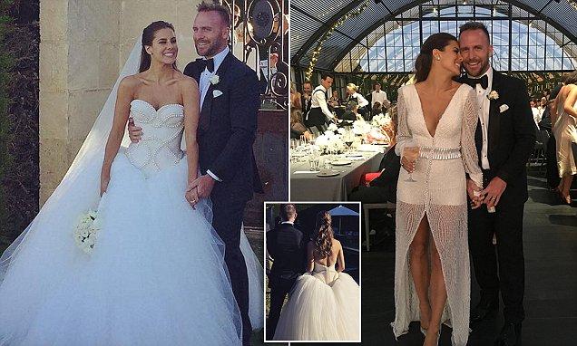 Lauren Phillips' Custom Wedding Gown By Con Ilio