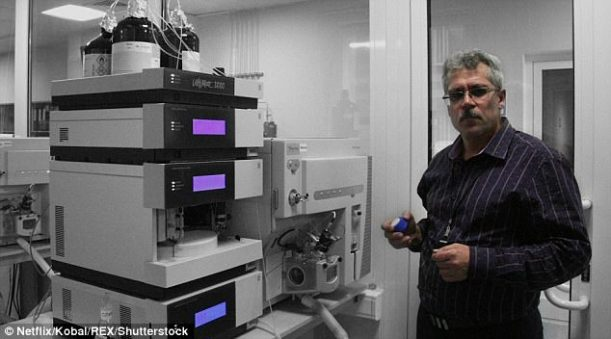 Whistleblower Grigory Rodchenkov (pictured) is now in witness protection in the USA