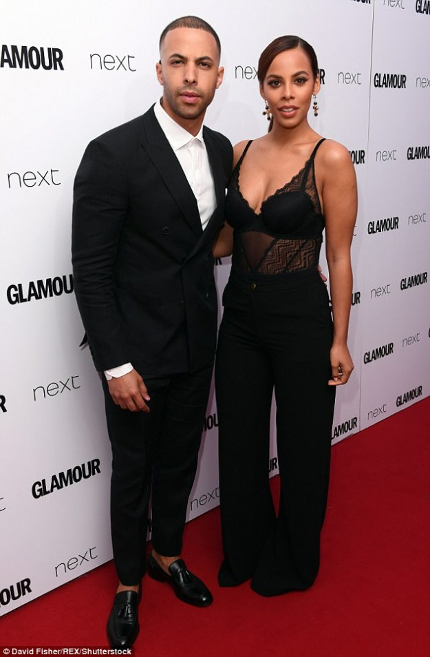 Happy couple:Marvin and Rochelle tied the knot in 2012 during a lavish ceremony at Blenheim Palace, and welcomed first daughter Alaia-Mai the following year