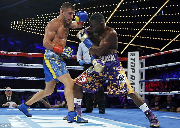 But Mayweather was not impressed with Lomachenko's recent win over Guillermo Rigondeaux