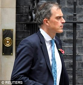 Tory chief whip Julian Smith (pictured outside No 10 last month) has reportedly told backbenchers they could be sued