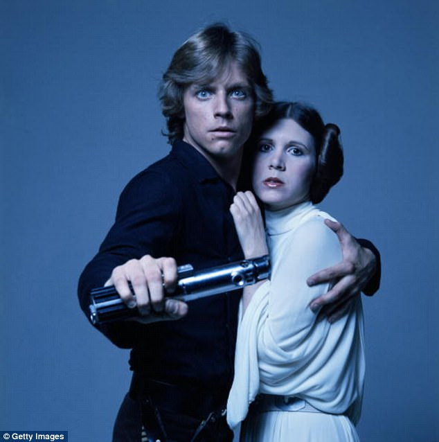 Image result for Mark Hamill Posts A Perfect Tribute To Carrie Fisher One Year After Her Death
