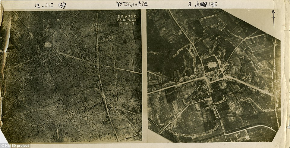 This image shows a map of Whitesheet in 1912 and during the war - with trenches built - in 1915. The excavation project leader said: 'Given the importance and unique character of this site, it requires a full-scale excavation. There should be no half measures.'