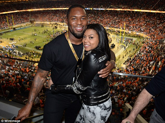 Her man! Appearing on the Yes, Girl! podcast by Essence, Taraji P. Henson confirmed that ex-NFL player Kelvin Hayden is her boyfriend; they are pictured last February