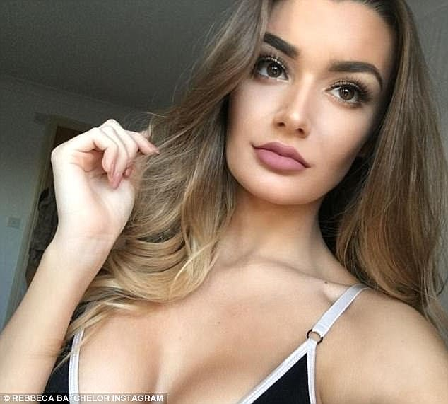 The 21-year-old (pictured) hit the headlines earlier this year after her team were sacked for 'distracting players' with their routines at the Essex football ground. They were subsequently re-instated