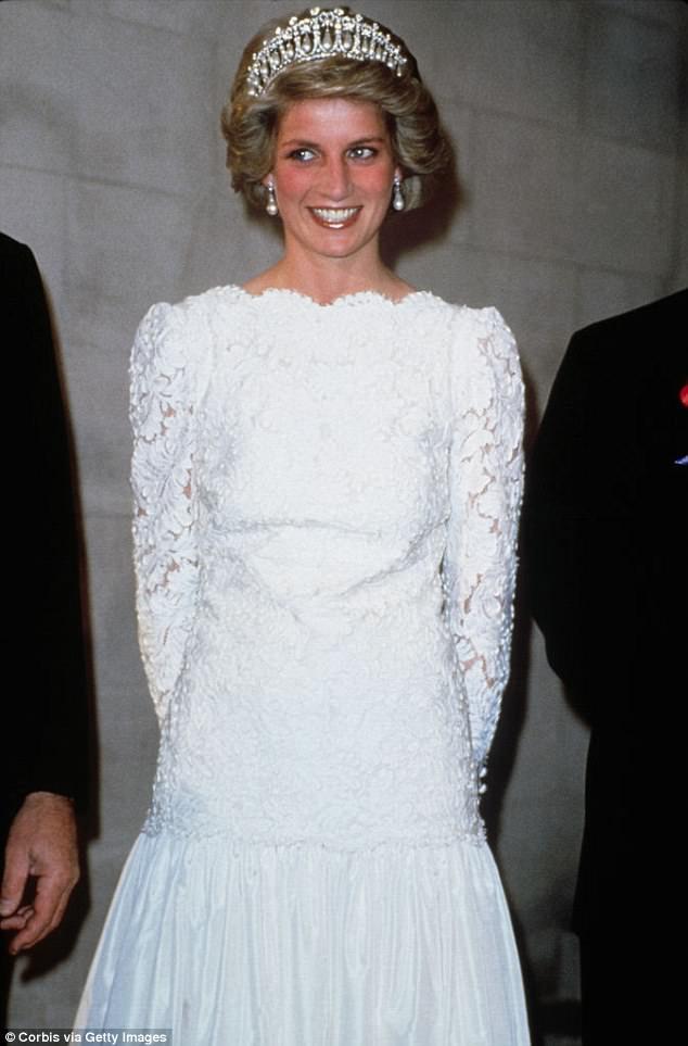 Fan of the sweet stuff: Princess Diana's favourite dessert was a crêpe soufflé