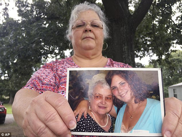 Heather Heyer (R in photo), 32, who died protesting a neo-Nazi rally in Virginia, has had to have her final remains hidden after her mother, Susan Bro, 61, continues to receive threats from white nationalists