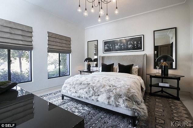 Kourtney Kardashian shares her guest room in Calabasas ...