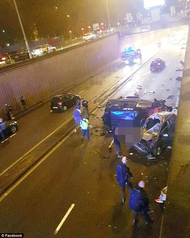 Six people were killed in the crash which happened in Birmingham in the early hours of Sunday