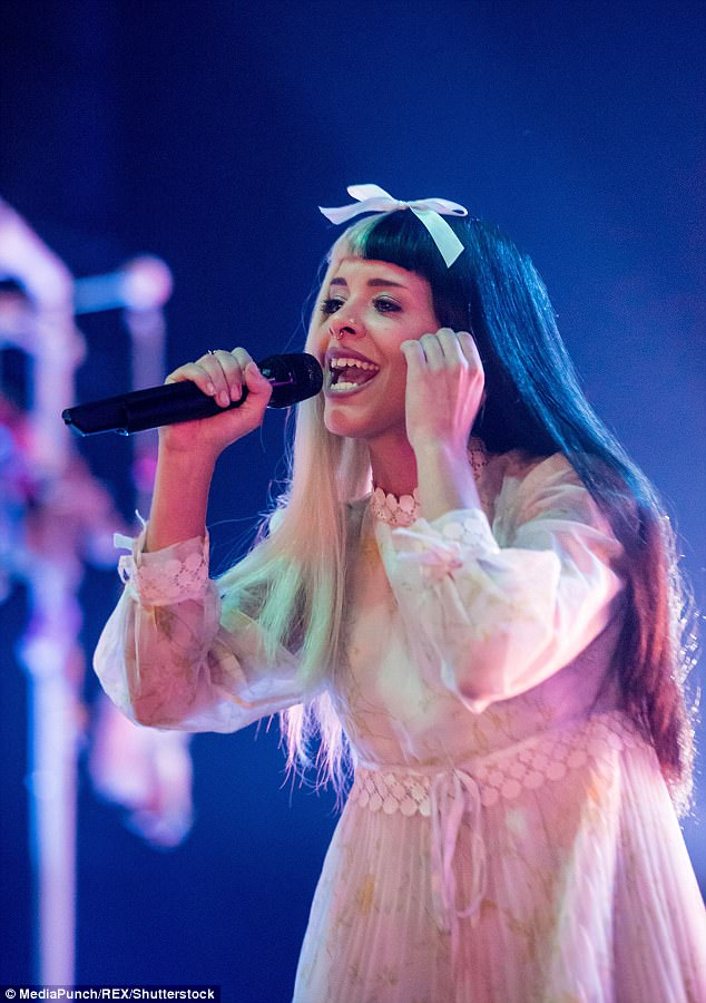 Melanie Martinez (pictured) rose to fame during The Voice in 2012 and became close with Heller after her band Dresses opened for the star