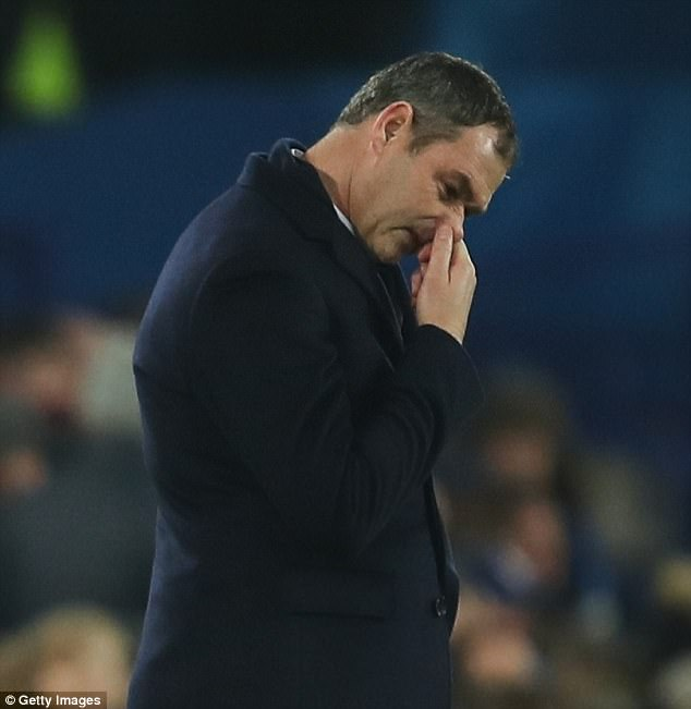 Swansea City could sack Paul Clement if he loses to Crystal Palace on Saturday afternoon