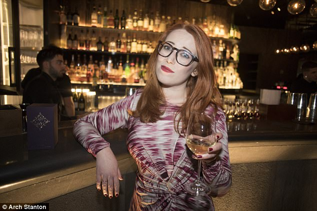 Esther went along to Soho bar Chatto Matte to see if anyone would approach her as she drank her wine alone