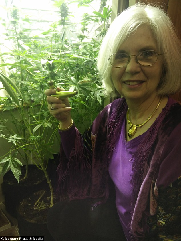 Carol Francey, 70, believes smoking cannabis for five decades is the secret to her good health