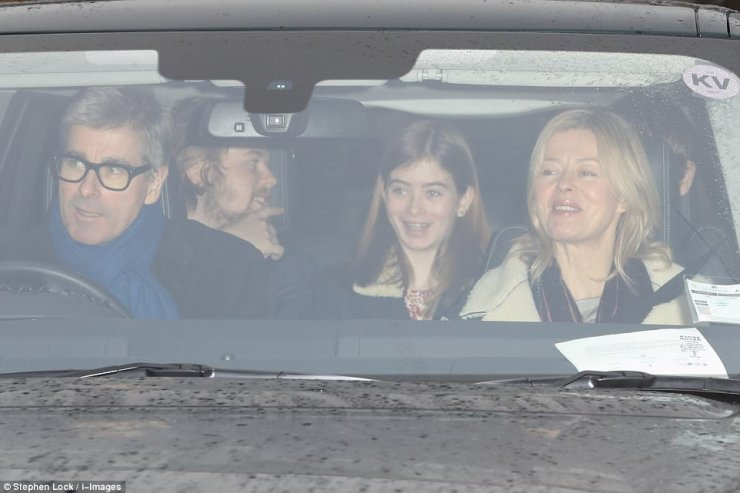 The Duke of Kent's daughter, Lady Helen Taylor, was accompanied by her whole family including husband Timothy Taylor, and two children Estella, Cassius, Eloise and Columbus Taylor