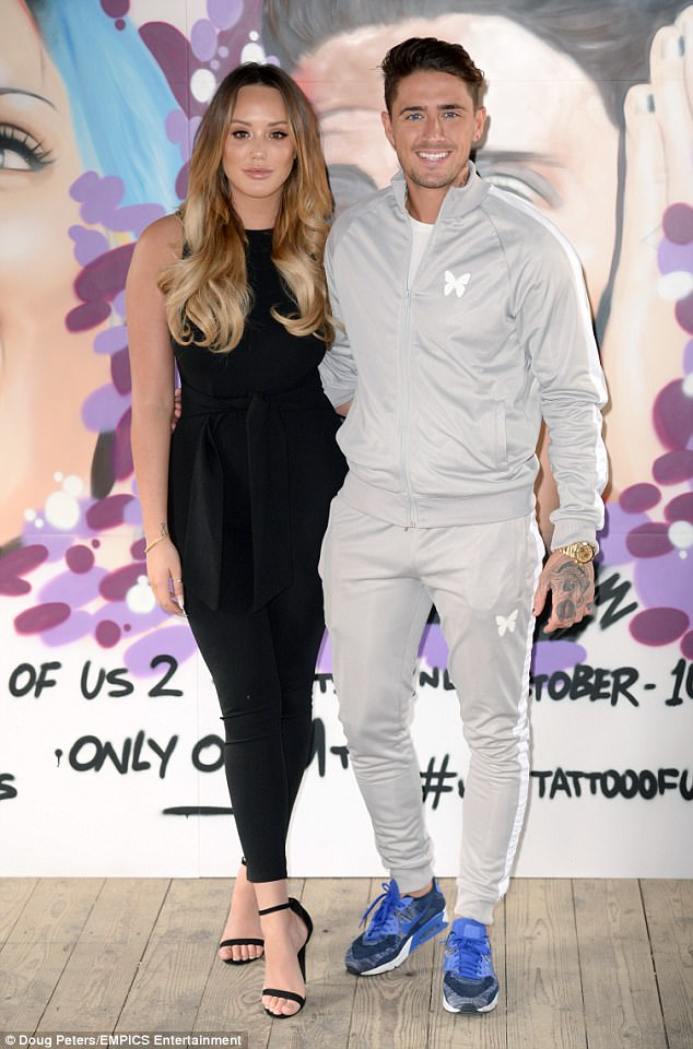 Tough time: Charlotte Crosby has admitted she's been struggling to eat after her turbulent split from Stephen