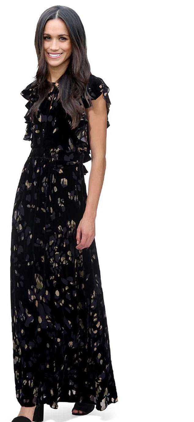 WHISTLES £170:Printed velvet is a big trend for winter, and Whistles just goes from strength to strength. This dress is very romantic