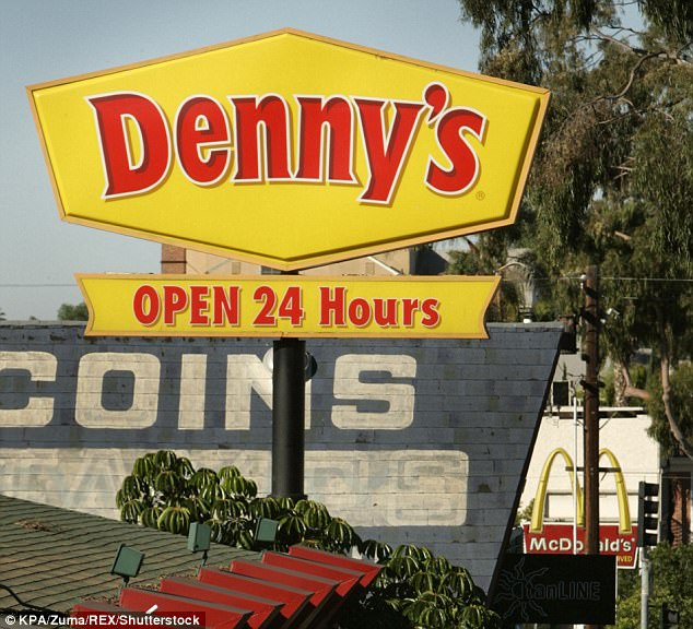 With 1,700 Denny's restaurants spread across the US alone, the 64-year-old eaterie pulled in more than $500 million in revenues last fiscal year