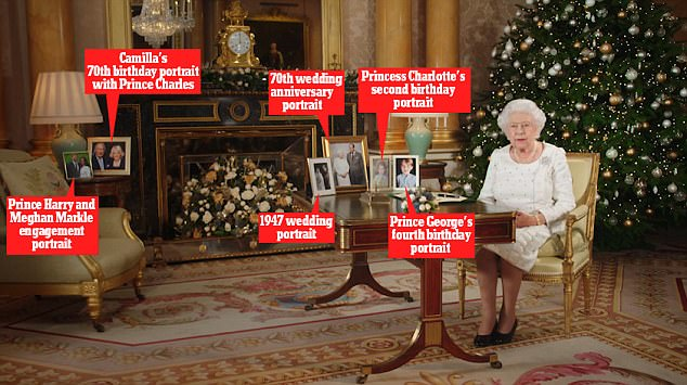 Queen Pays Tribute To Her Family In 60th Festive Speech