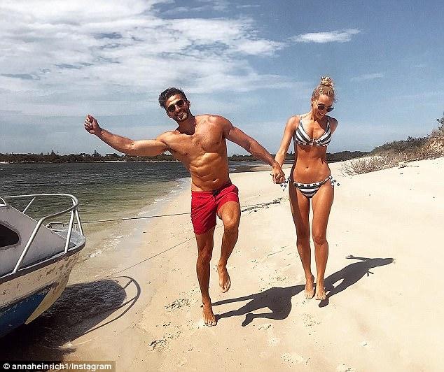 High-profile: The couple met on the 2013 season of The Bachelor Australia