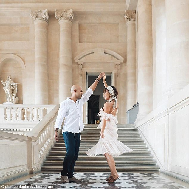 Online stars: October saw Instagram model Pia Muehlenbeck, 26, announce her engagement to longtime boyfriend and photographer Kane Vato