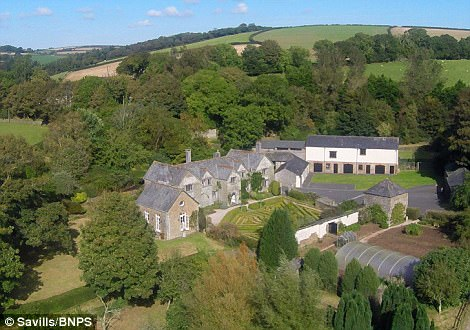 The property also boasts a guest cottage and a range of outbuildings with planning consent, so can be converted into four separate dwellings which could be run as a holiday let should the new owners want a bit of extra incom