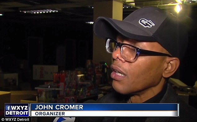 The event organizer John Cromer said the brawl happened because people were under a lot of stress, and not because of the charity itself
