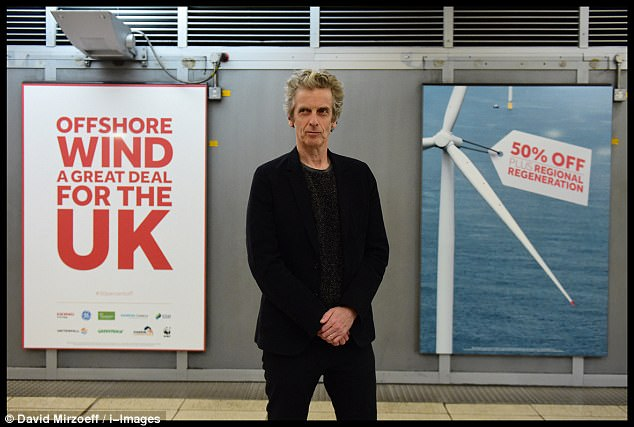 The poster, launched in September by Doctor Who star Peter Capaldi and plastered around Westminster Tube station and across London¿s transport network, claimed the price had fallen by 50 per cent over the past two years
