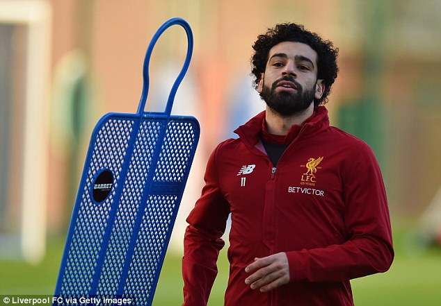 Salah puts in the hard yards as he gears up for the physical challenge of the festive fixtures