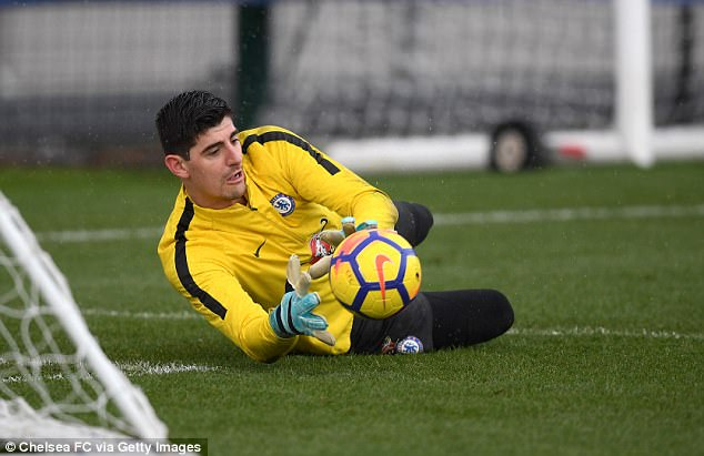 There is also uncertainty over Thibaut Courtois, who has just 18 months to run on his contract