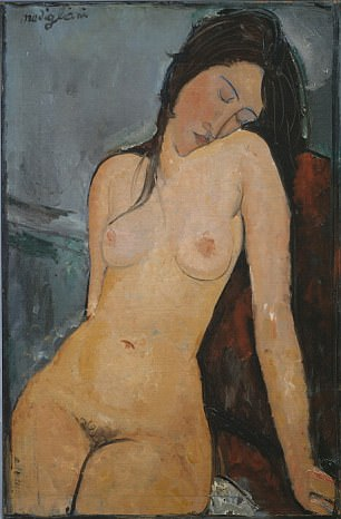 The Impressionist-era portrait Iris Tree by Italian painter Amedeo Modigliani, was the other