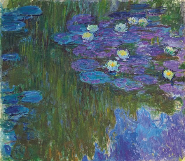Claude Monet's Nympheas En Fleur (Lilies In Flower), has a price tag in the region of $35 million (£26 million). The sale follows Rockefeller'd death in March at the age of 101