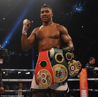 Image result for Anthony Joshua