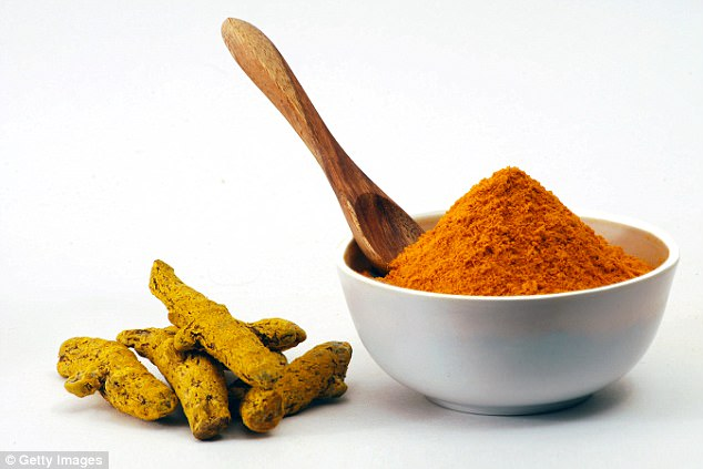Doctors say Dieneke Ferguson's case is the first recorded instance in which a patient has recovered by using turmeric (pictured) after stopping conventional medical treatments