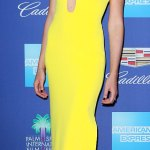 Wonder woman in Yellow: Gal Gadot at the Palm Springs International Film Festival Awards Gala