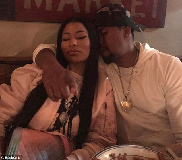 Close:Nicki and Nas have been friends for many years, but never formally confirmed rumors they were dating