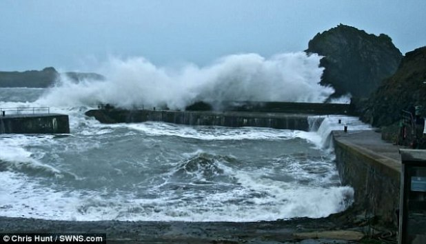 Storm Eleanor precipitated chaos because it battered the Cornish Shoreline as of late